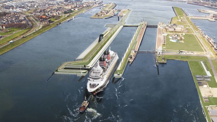 IJmuiden sea lock to be completed this summer