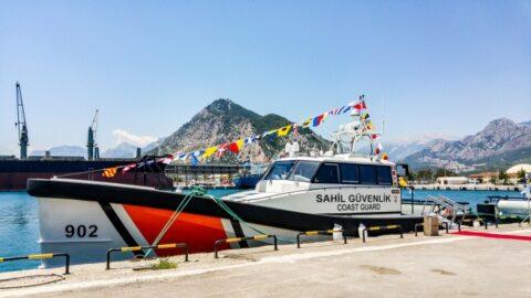 Damen and the coastguard
