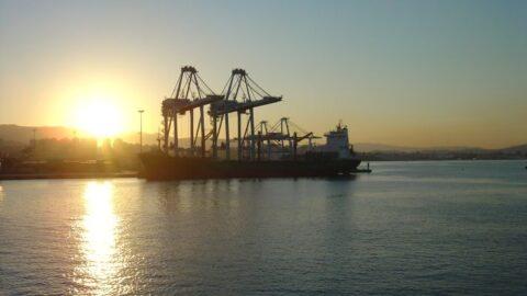 Ship in port general