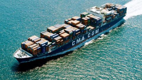 CMA CGM vessel (c) CMA CGM