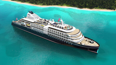 Mega Yacht for SeaDream