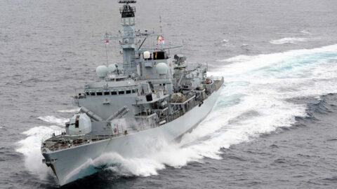 HMS Montrose Defense Images