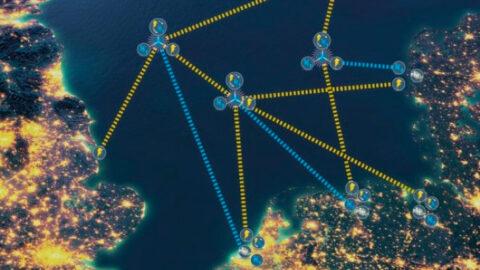 North Sea Wind Power Hubs