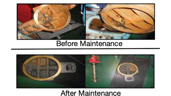 Ship Needs to Solve Fire Main Isolation Valve Deficiency