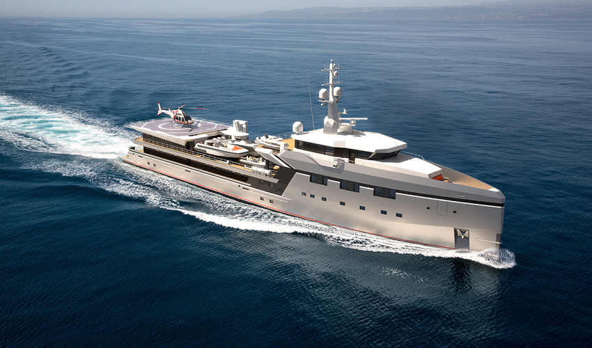 Damen Sells Largest Yacht Support to Date