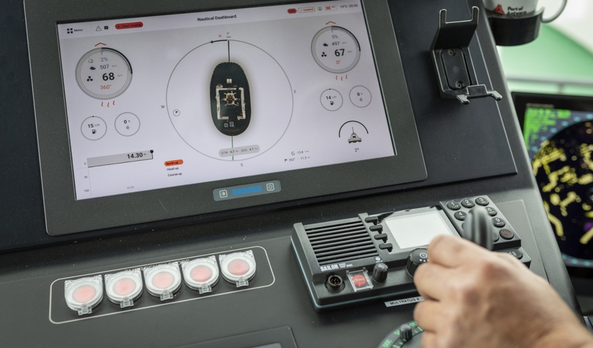 Damen Wins Award for Human Machine Interface for Tugs