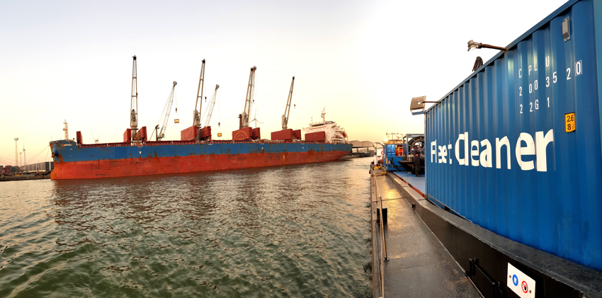 Fleet Cleaner Expands to Belgian Ports