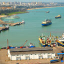 Port of Haikou in China