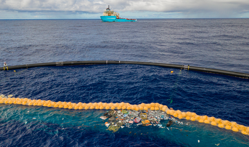 Ocean Cleanup's Latest Prototype Is Catching Plastic
