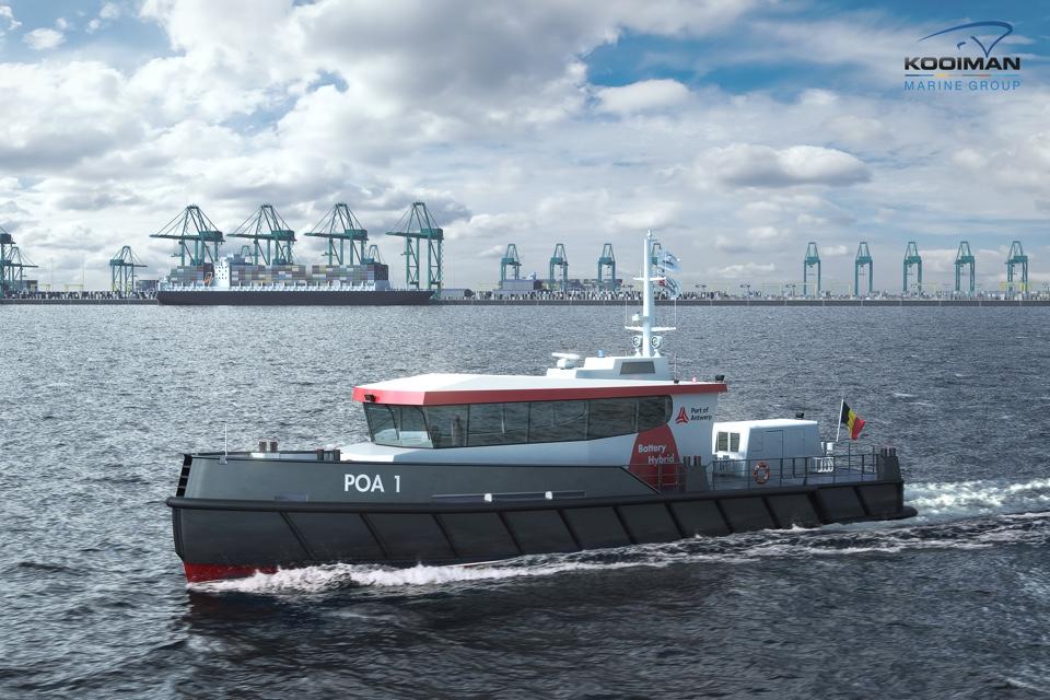 Kooiman to Build Two Hybrid Patrol Vessels for Port of Antwerp