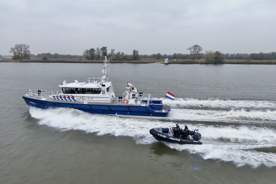 Dutch Police Receives New Patrol Vessel with Hull Vane