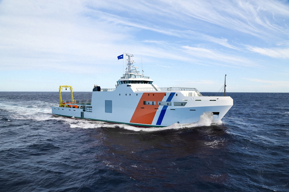Damen Signs Contract for Hydrographic Research Vessel