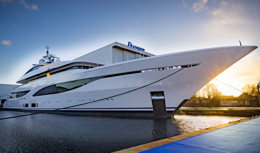 Latest Feadship Yacht Named and Christened