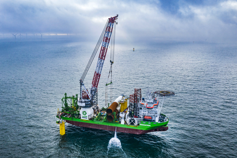 DEME Completes Foundations at Belgium's Largest Offshore Wind Farm