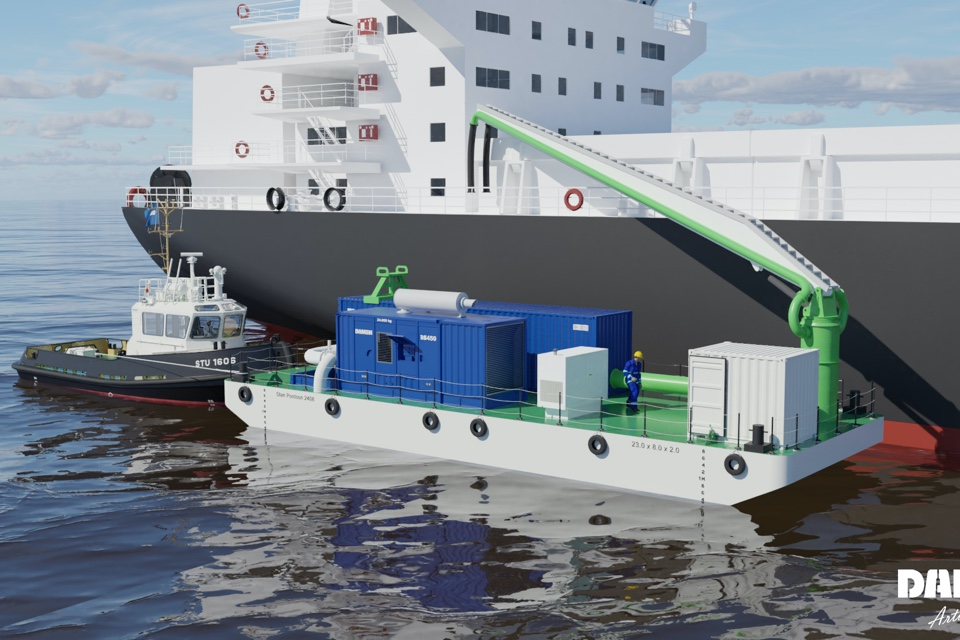 New Damen solution removes sediment from ballast water