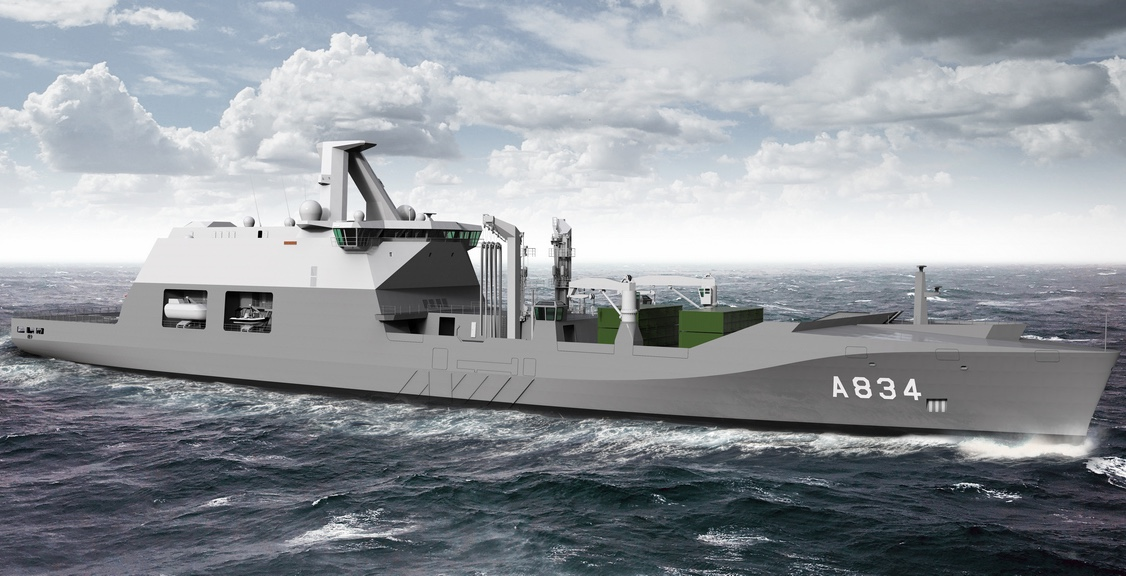 DMO signs contract for naval supply ship with Damen