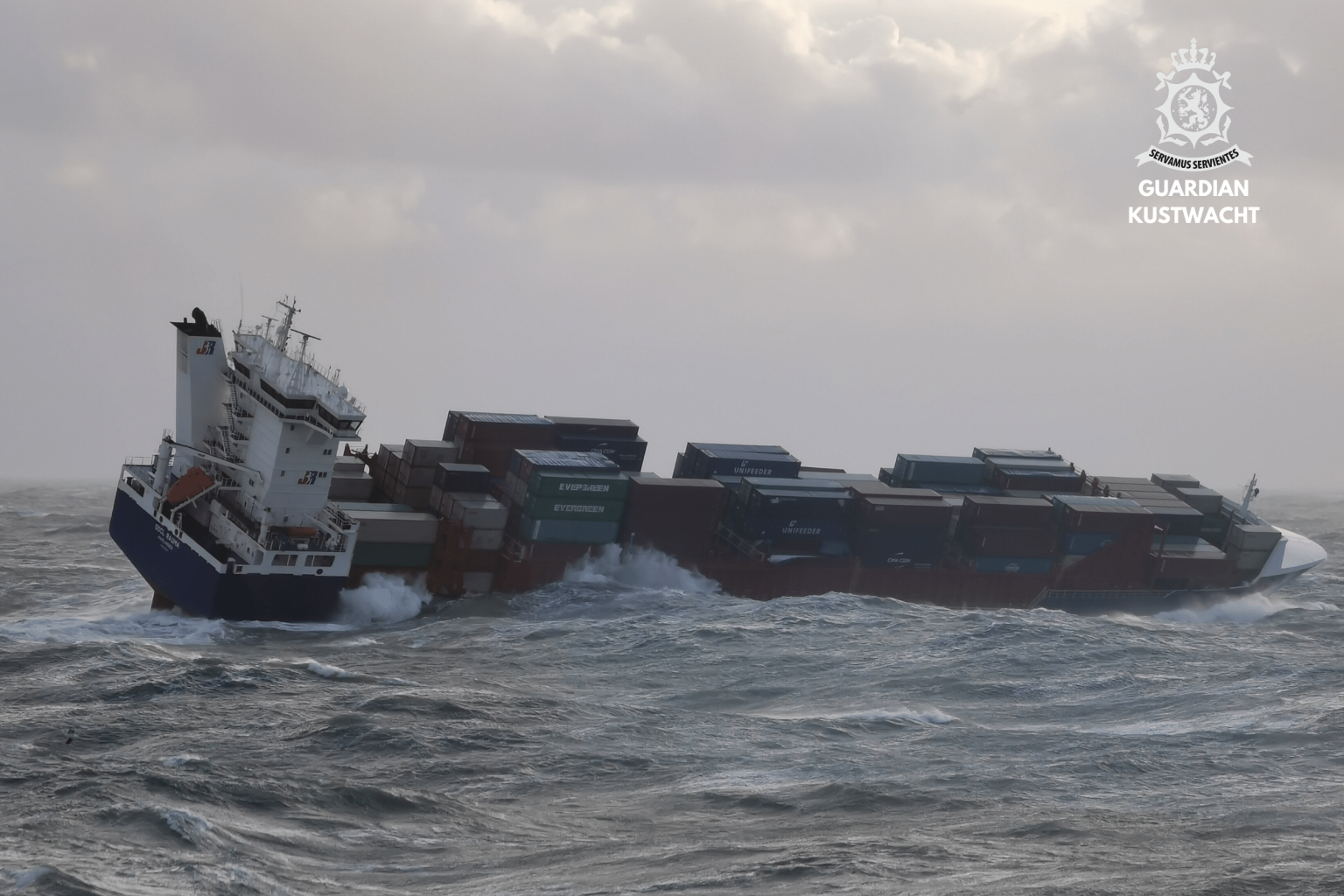 Investigation into container vessel OOCL Rauma losing containers