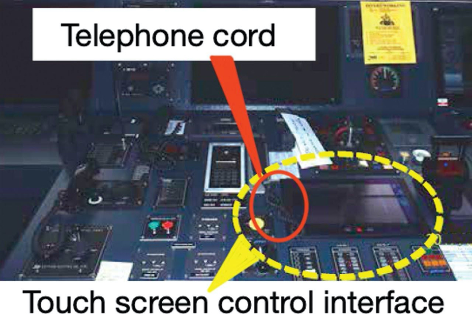 Do you know how sensitive the touchscreens on your ship are?