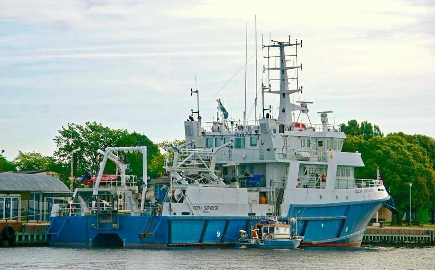 Damen Sweden to extend life of survey vessel Ocean Surveyor