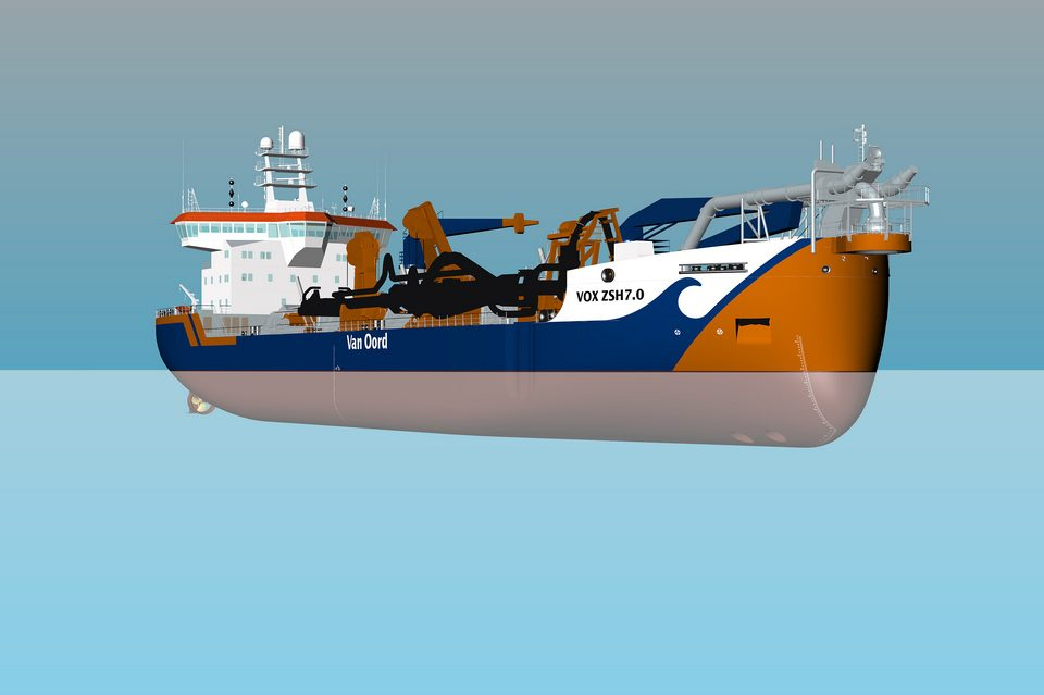 DMC to supply steering and rudders for Van Oord's new dredgers