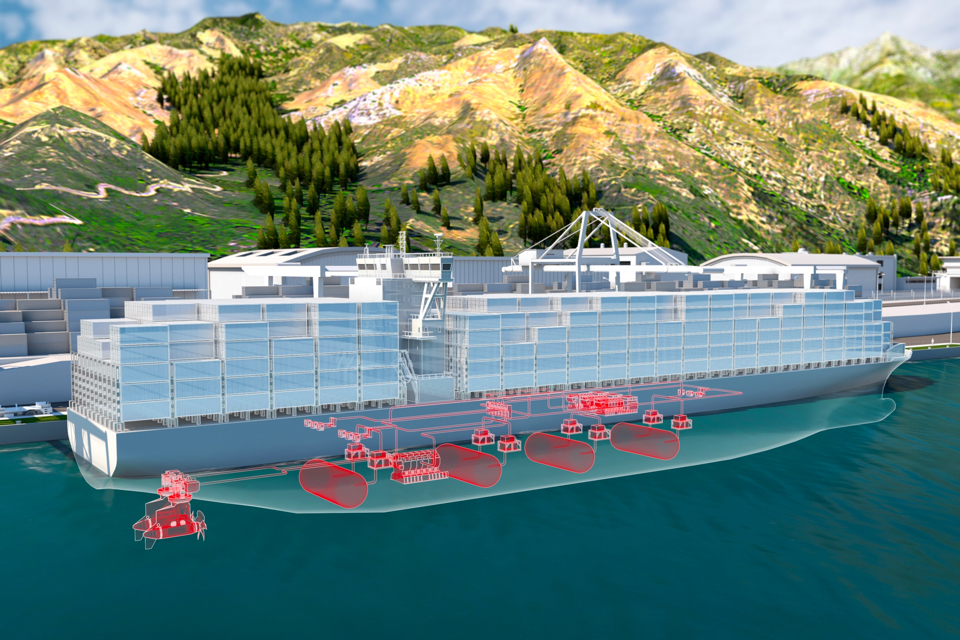 ABB works on megawatt-scale fuel cells for large ships
