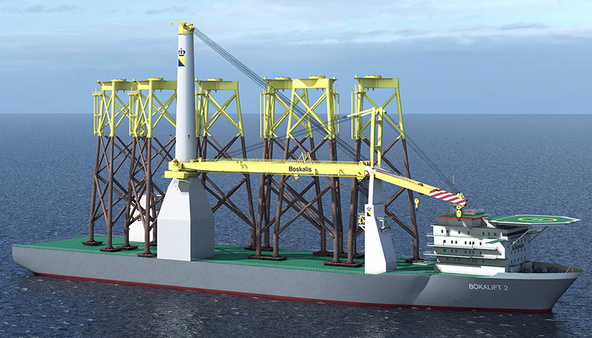 Bakker Sliedrecht provides electrical conversion crane vessel Bokalift 2