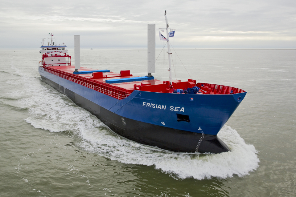 Boomsma orders VentiFoil wind-assisted propulsion with Flatracks