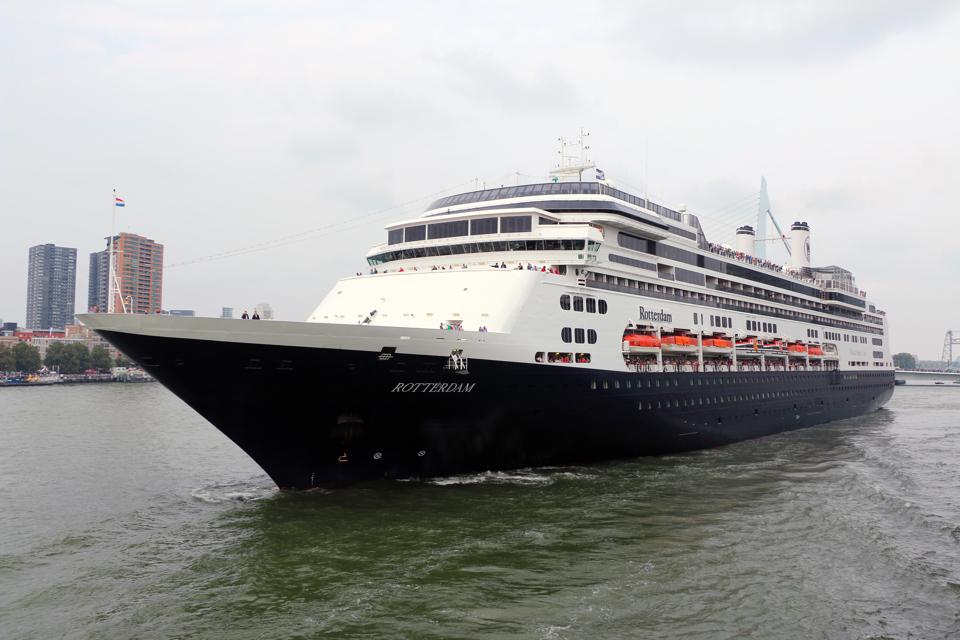 Handful of passengers still stuck on 'ghost ship' Rotterdam