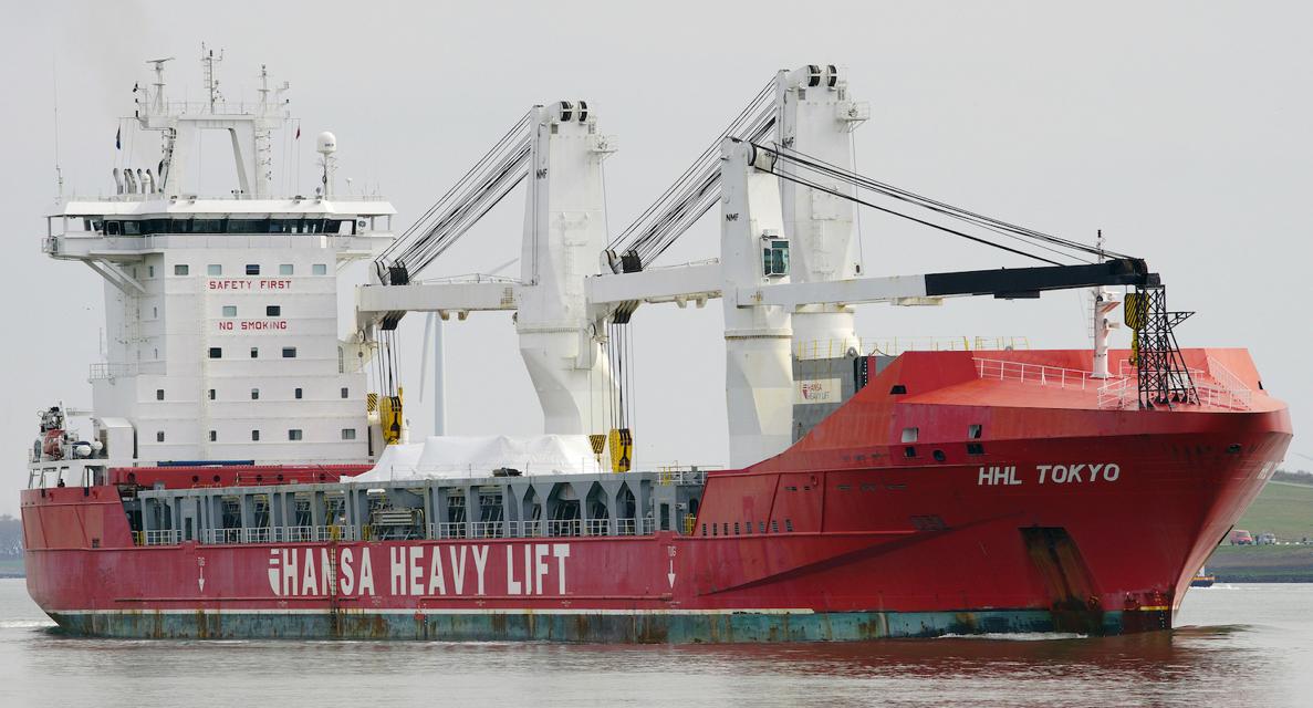 Spliethoff acquires heavy-lift vessel Zea Gold
