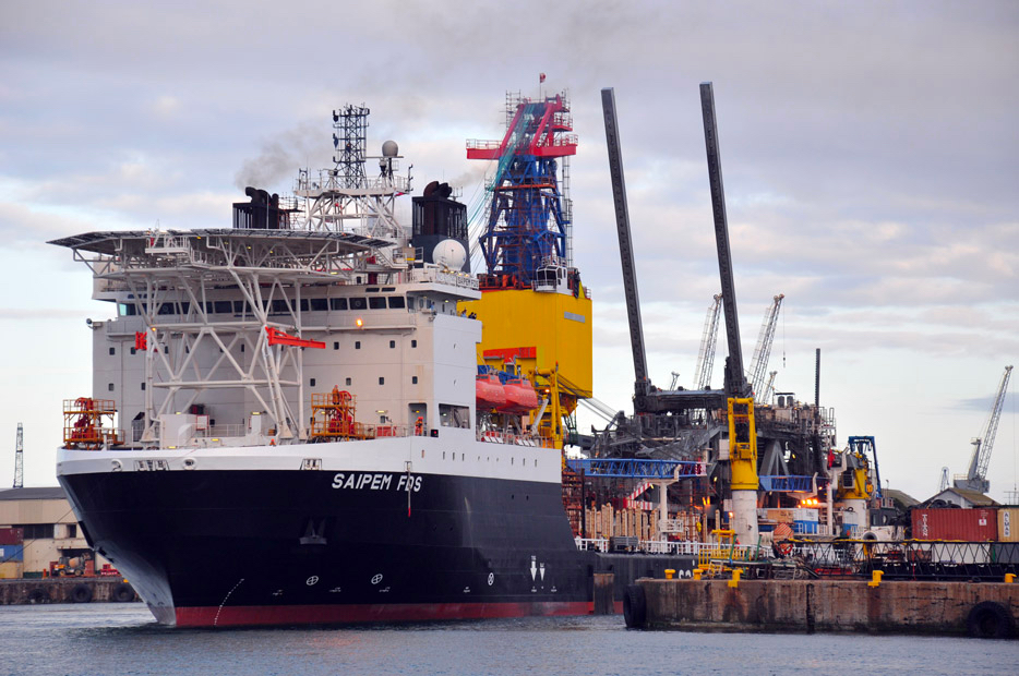 Man on Saipem ship in Rotterdam died of natural causes