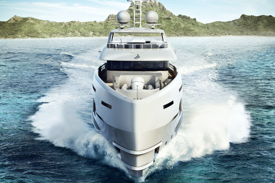 Heesen introduces latest aluminium FDHF yacht: Project Altea