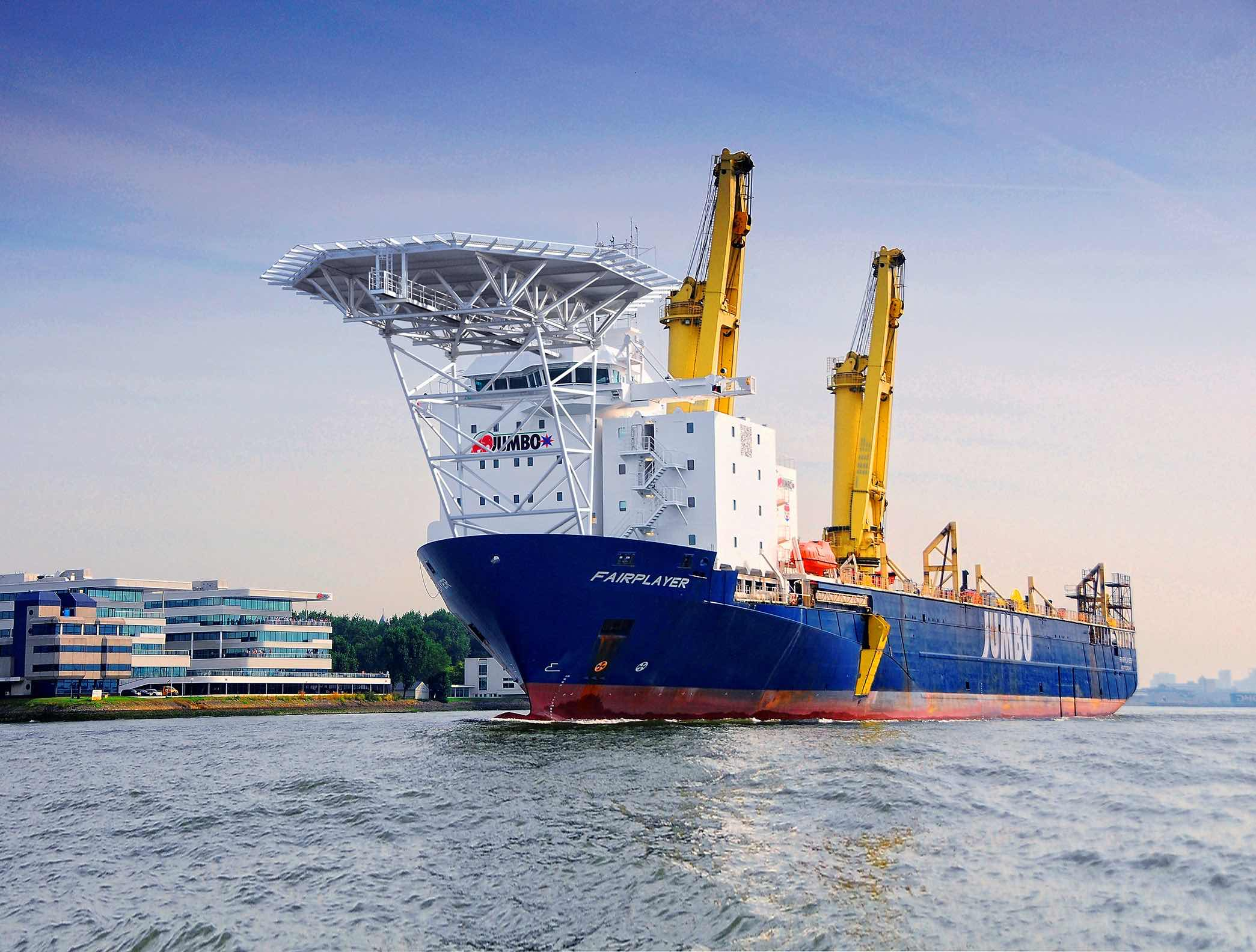 Jumbo and SAL to enter into heavy lift joint venture