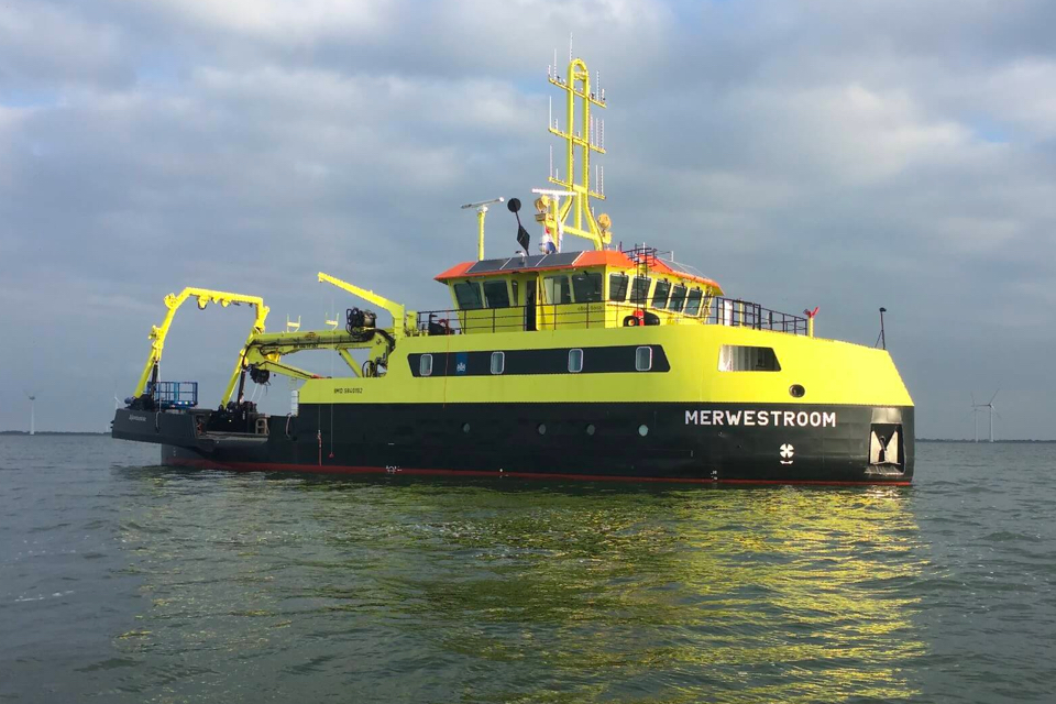 First Multi-Purpose Vessel finally delivered to Rijkswaterstaat