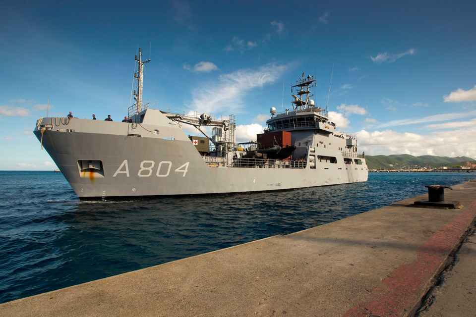 Alewijnse undertakes electrical refit for Dutch naval support vessel