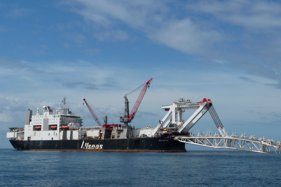 Allseas at work on its first offshore job in China
