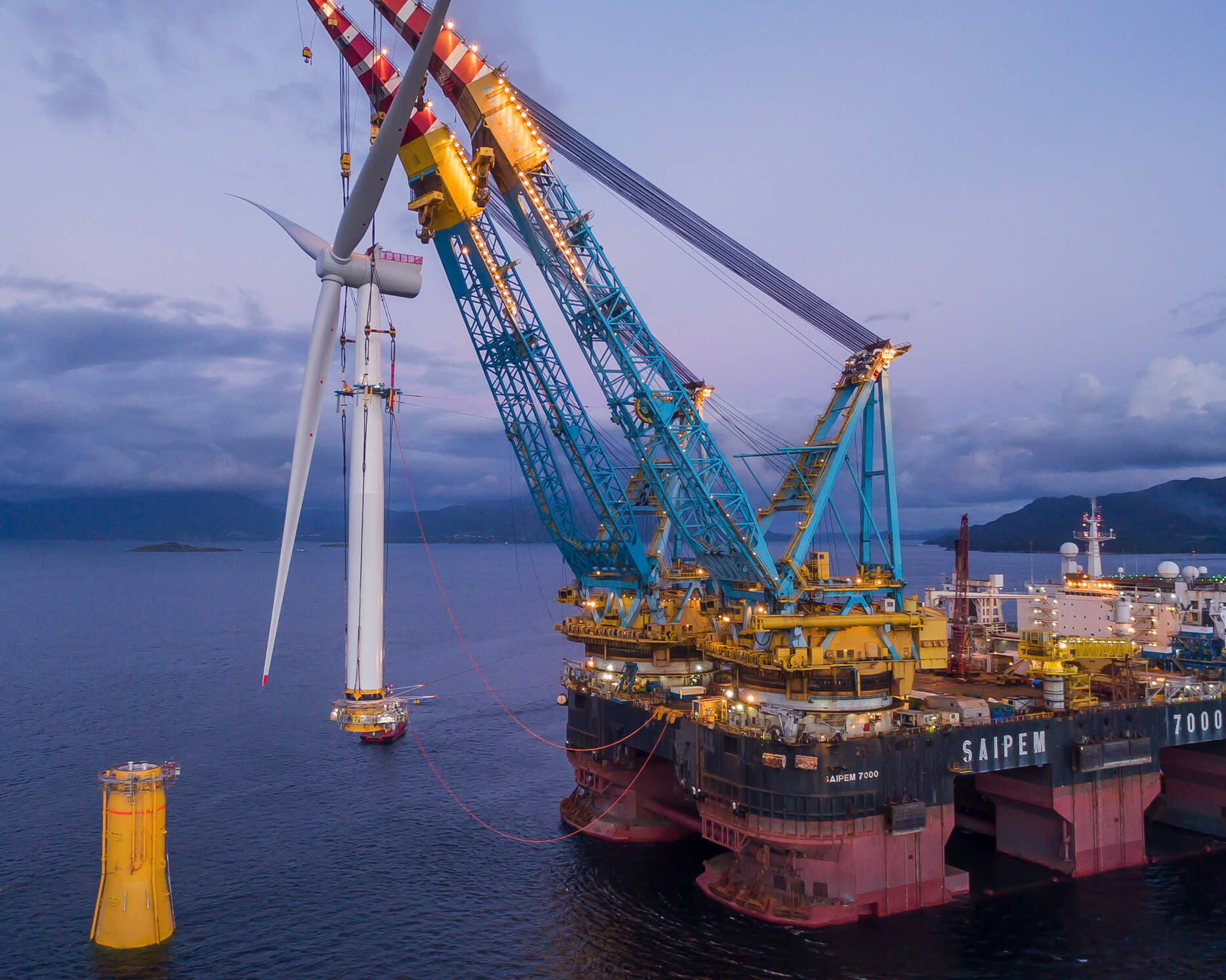 Boskalis, Saipem and Bouygues win EUR 552M offshore wind contract