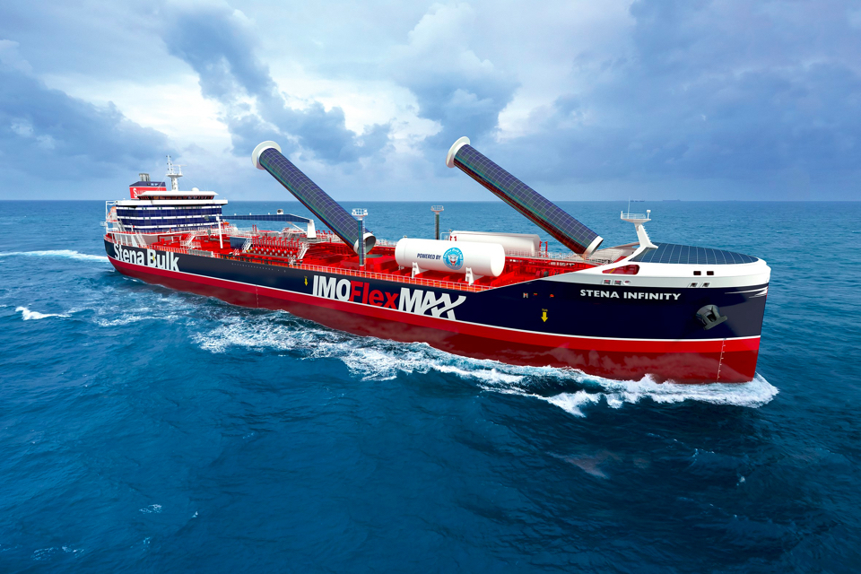 Stena Bulk presents 25 per cent cleaner product and chemical tanker