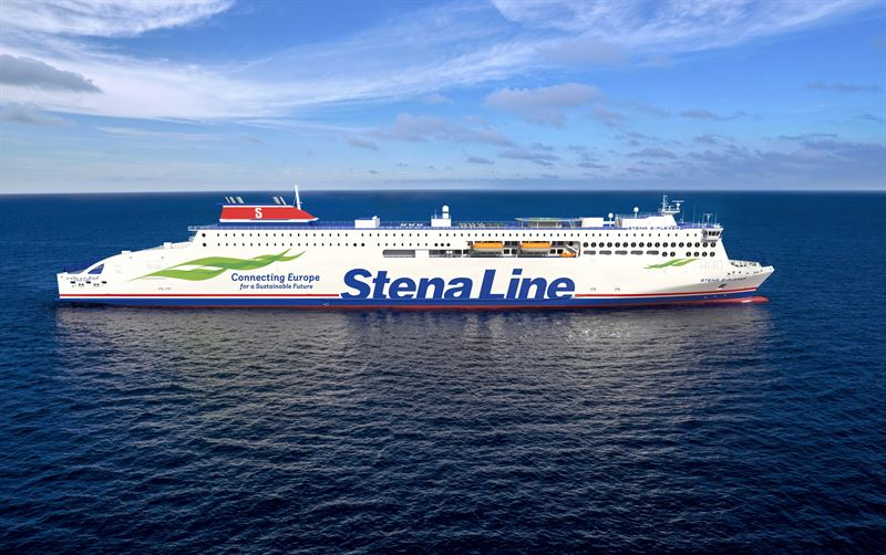 Kick-off for construction of larger E-Flexer ferries for Stena