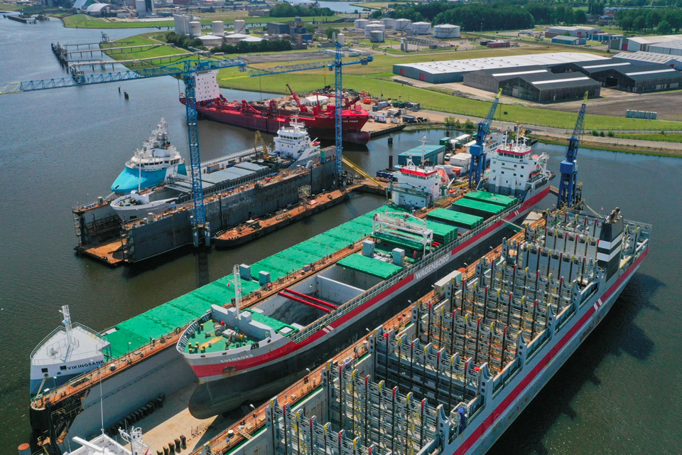 Four in one go: Wagenborg ships get ballast water treatment systems