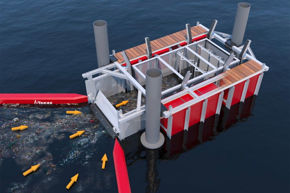 Allseas develops waste collector for rivers
