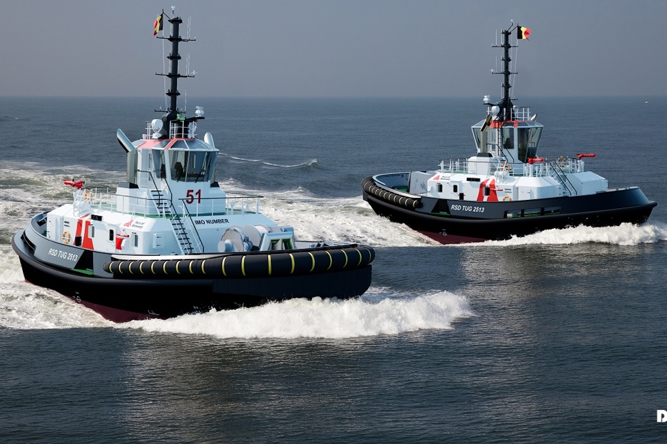 Damen to deliver two IMO Tier III tugs to Port of Antwerp