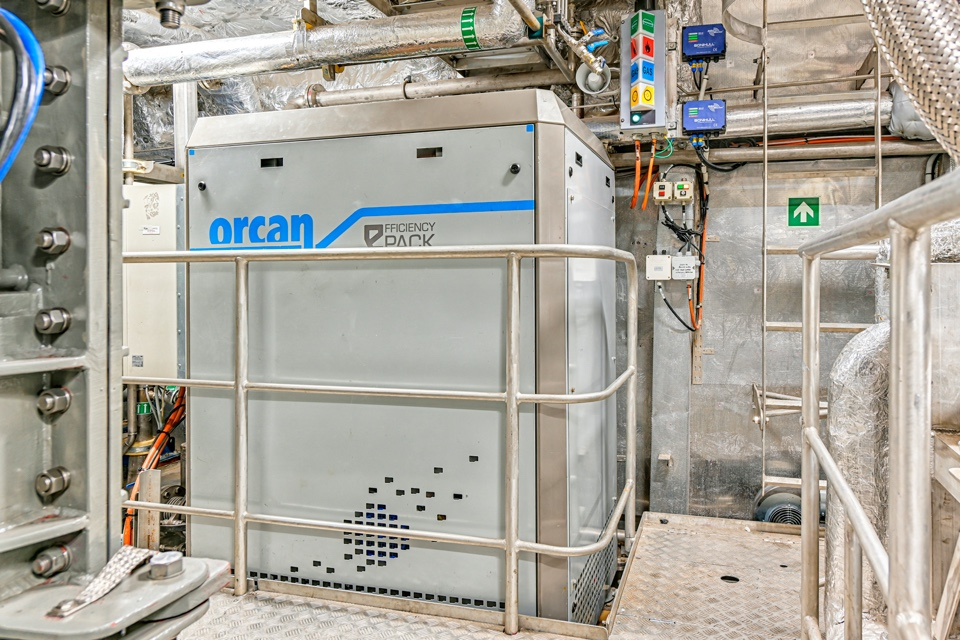 New Doeksen LNG ferries reuse waste heat through ORC technology