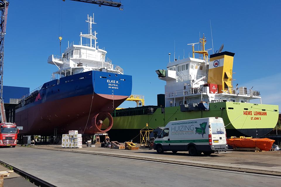 Dutch shipbuilding in 2019