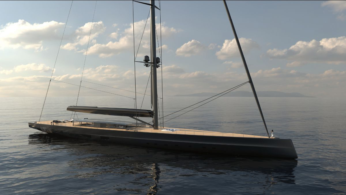 Huisman and Malcolm McKeon unveil plans for world's largest sloop