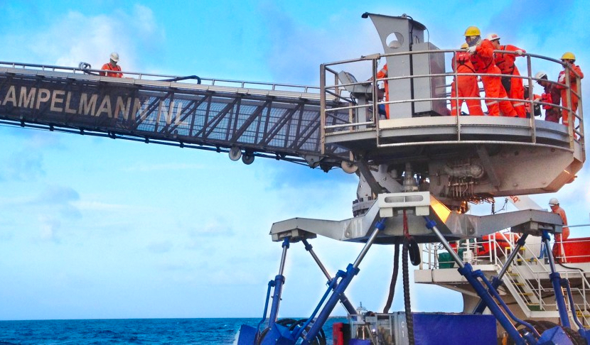Ampelmann introduces W2W services to the East Coast of India