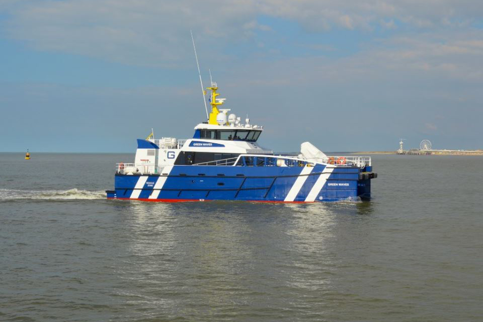 First Dutch delivery for Damen's latest Fast Crew Supplier design