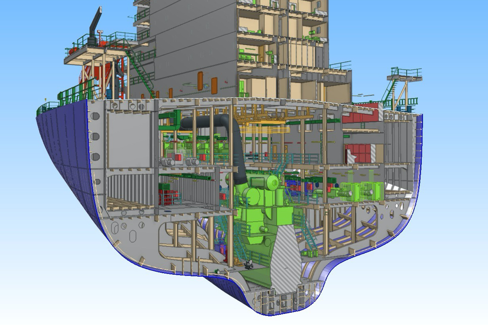 RINA works on interface that will allow 3D ship classification