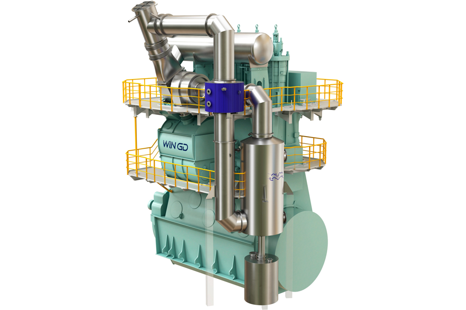 Alfa Laval and WinGD present solution that targets methane slip
