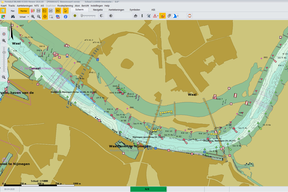 Periskal and Tresco integrate real-time water depths into ECDIS