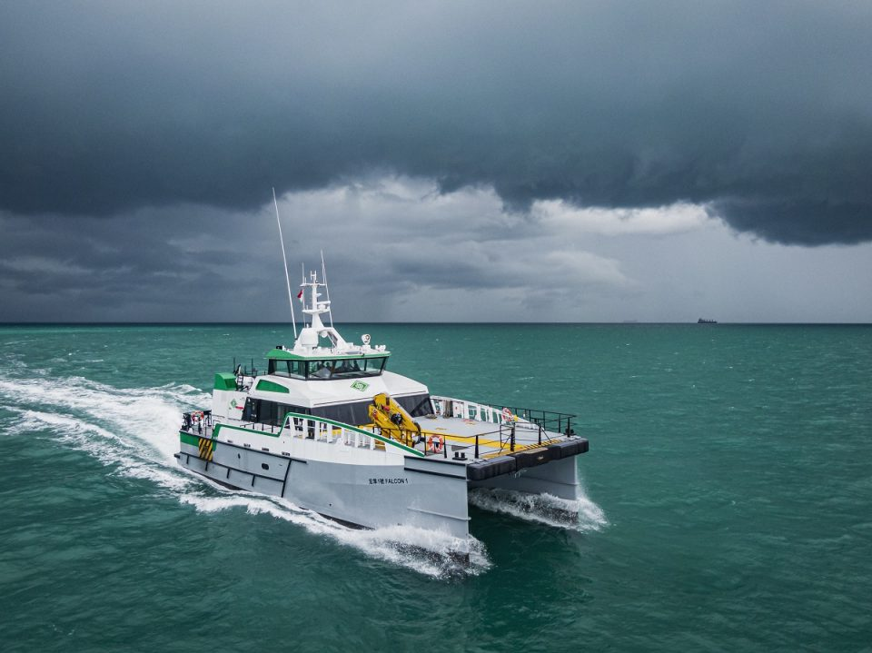 US approval in principle for Damen's new Fast Crew Supplier